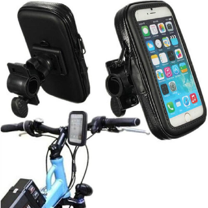 Motorcycle Bike Bicycle Waterproof Bag Pouch Case Handlebar Mount Holder Cradle