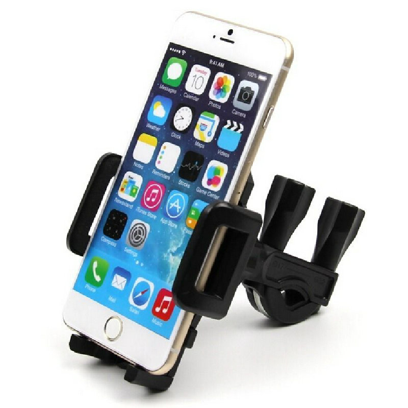 Universal Motorcycle  Bike Bicycle Handlebar Mount Holder for Cell Phone GPS